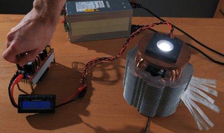 На что способен светодиод мощностью в 500 ватт