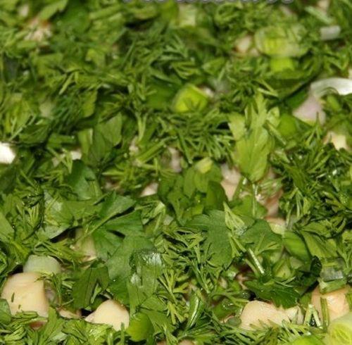 Салат лесная поляна с опятами и ветчиной рецепт и