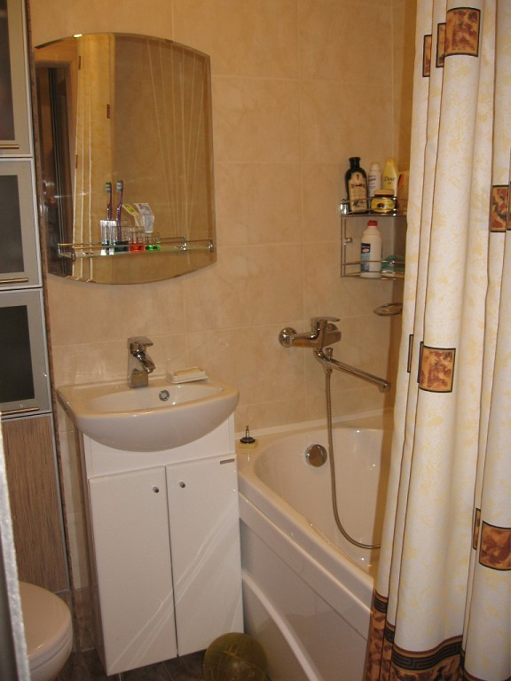 Маленькая ванная комната в хрущевке — секреты большого дизайна