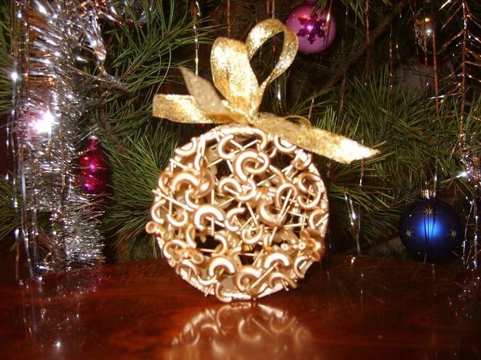 Лучшее украшение новогодней елки за 7 минут при минимальном бюджете