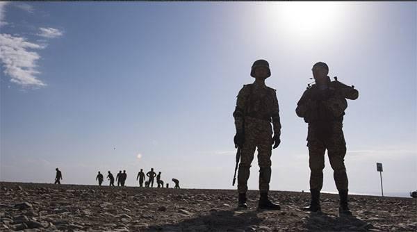 """Спецназ, авиация и расчёты """"Искандеров-М"""" ВС РФ уничтожают условных боевиков в Таджикистане"""