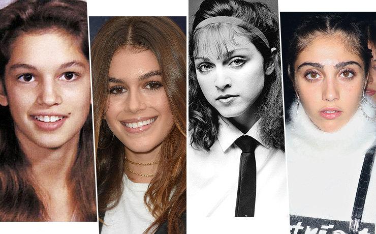 Молоды и прекрасны: как выглядели звездные мамы в возрасте своих дочерей