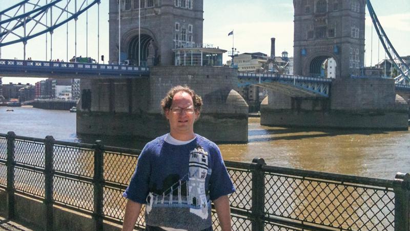 6. Свитер с Лондонским мостом интересное, пряжа, свитера, фото