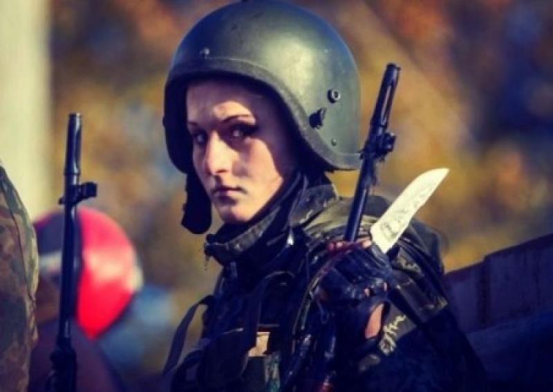 На Спартаке снайпер застрелил девушку «Гиви»
