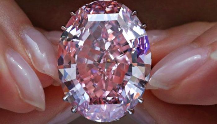 Бриллиант Pink Star
