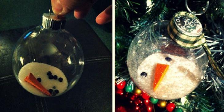 Снеговики на ёлке