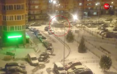 В Видном водитель автомобиля протаранил 12 машин