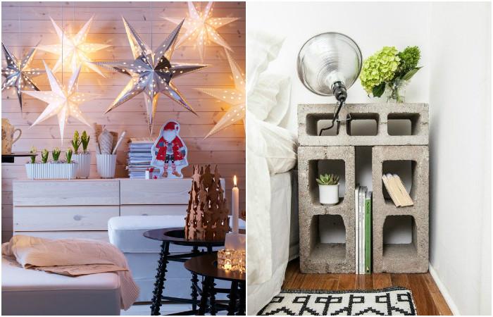 Идеи вашего дома: 8 креативных идей, которые помогут преобразить интерьер спальни в съемной квартире