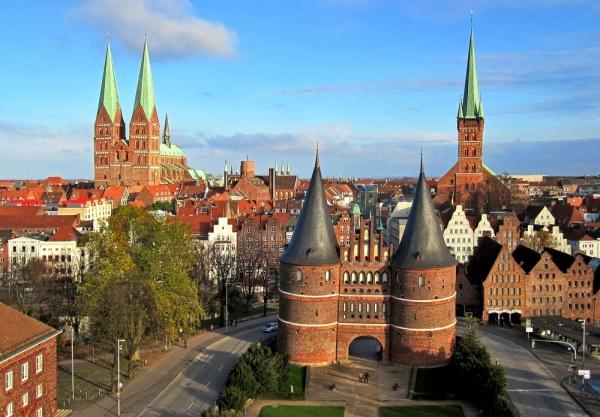 Любек. 10 самых красивых городов Германии. Интересные города Германии, которые обязательно стоит посетить. Фото с сайта NewPix.ru