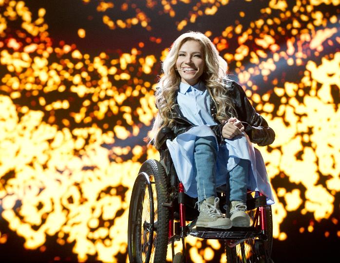 На «Евровидении-2017» в Киеве Россию представит Юлия Самойлова
