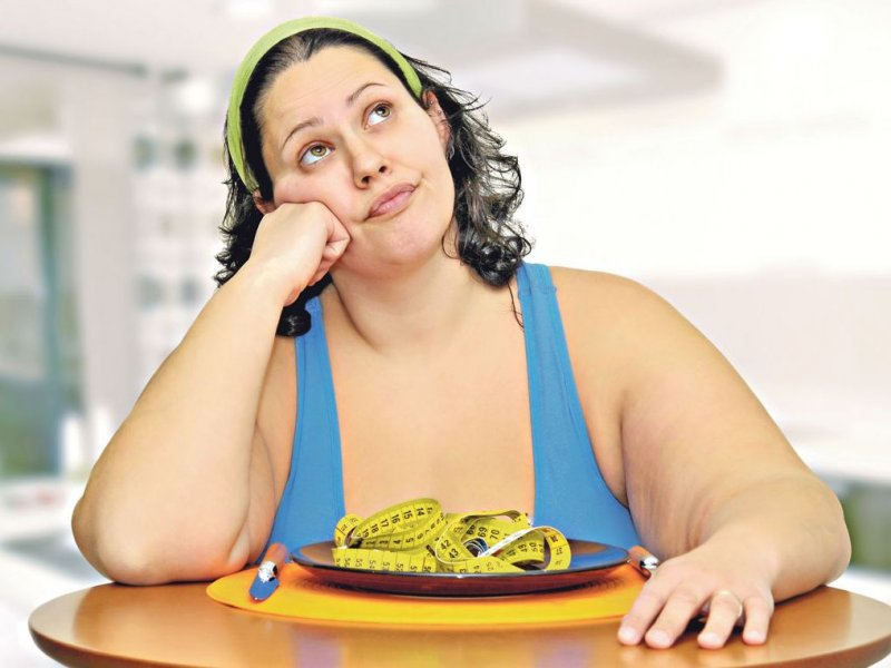 Некоторые люди с рождения склонны к ожирению по генетическим причинам