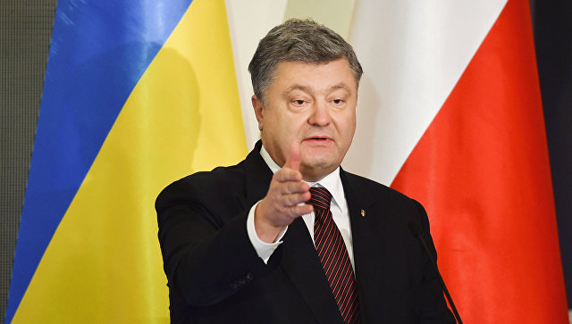 """Порошенко: """"Дорогие наши соотечественники! Украинская оккупация – это временно!"""""""