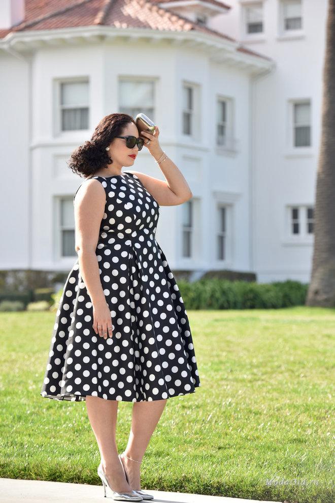 Красивые летние платья для полных женщин