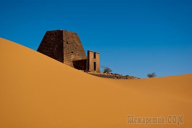 Нубийские пирамиды. Интересные факты из Мероитского царства