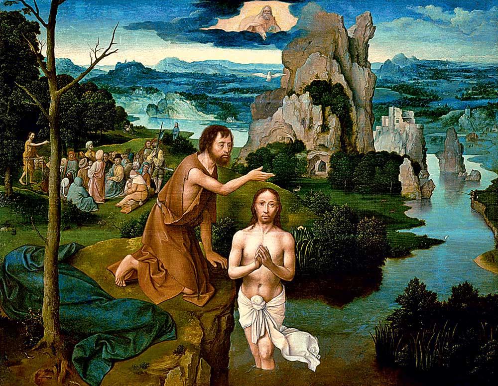 Как Христос мог «креститься», если само понятие креста связано с его смертью? Есть ответ?