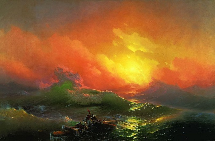 Величественные и эмоциональные картины Айвазовского.