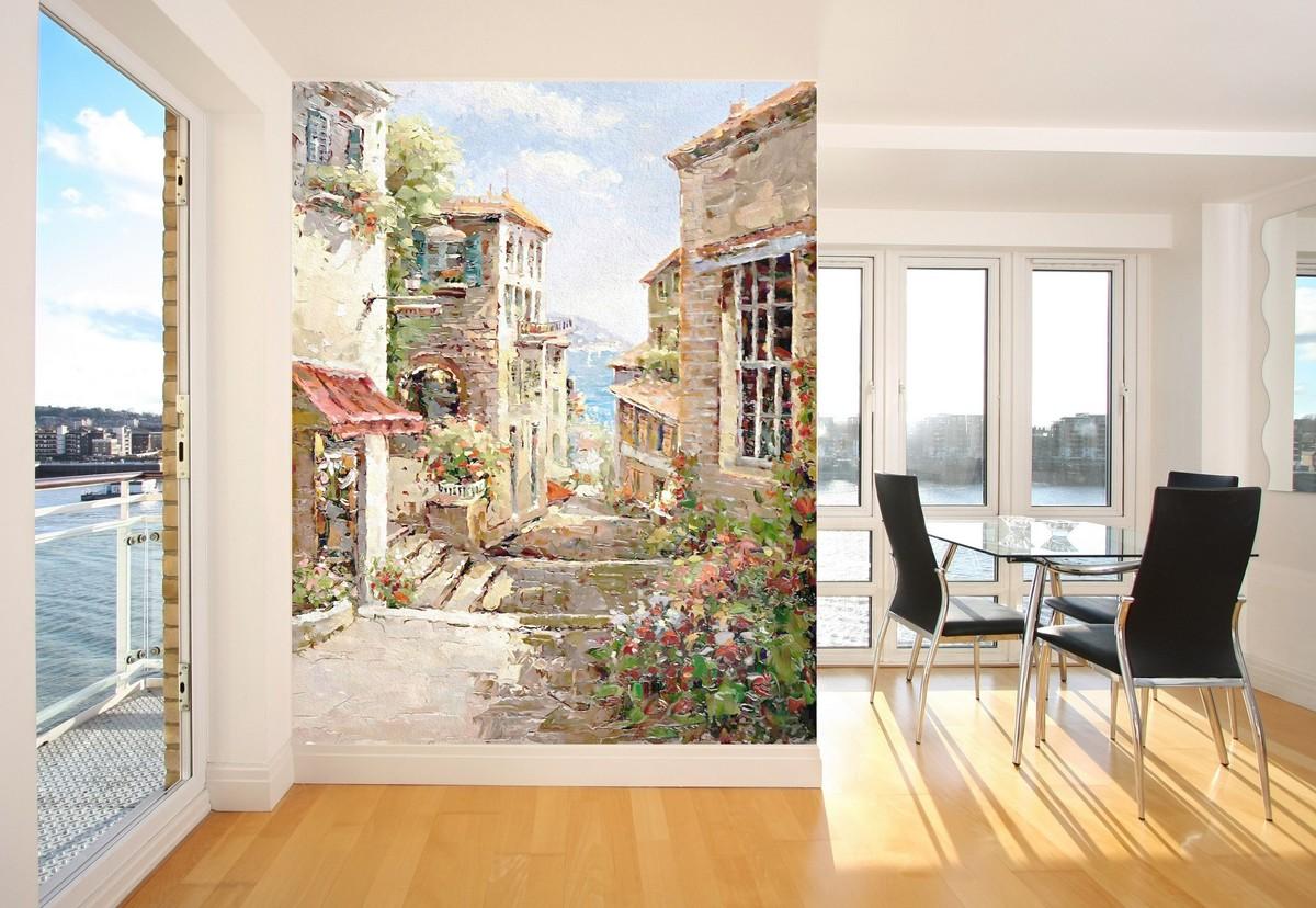 Использование фресок для оформления различных комнат