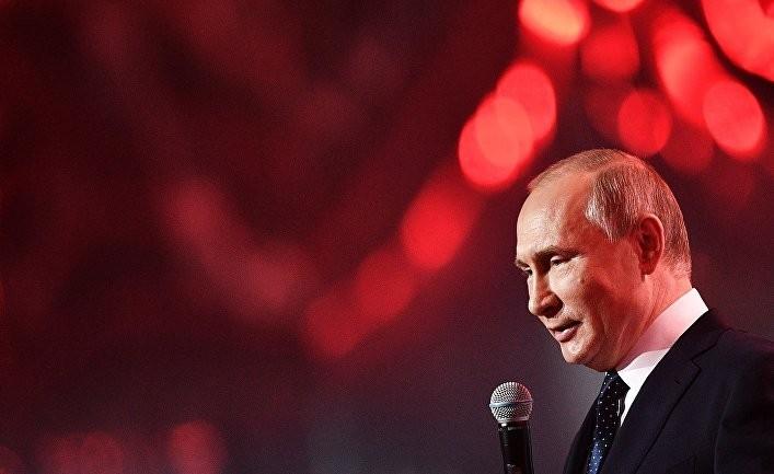 В Британии назвали новогоднее поздравление Путина «дерзким»