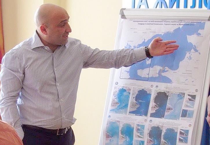 Украина решила гадить строительству Керченского моста при помощи NASA