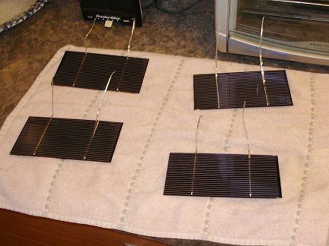 Изготовить солнечные элементы своими руками 93