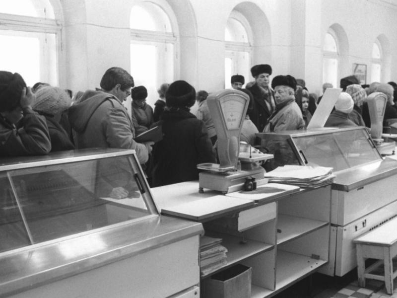 В советском универмаге- как оно было