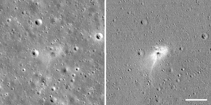Зонд NASA LRO сфотографировал место крушения частного израильского лунного аппарата Beresheet