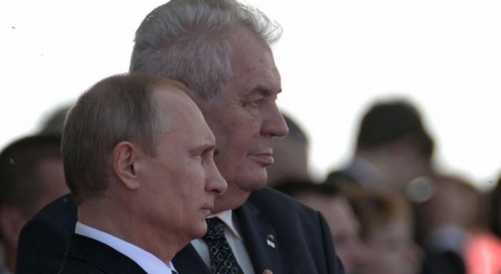 После встречи с Путиным президент Чехии выступил с новым заявлением по антироссийским санкциям: реакция Запада