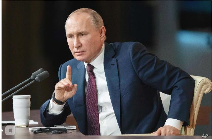 А вы заметили, что Путин становится все увереннее и увереннее? Как думаете, почему?
