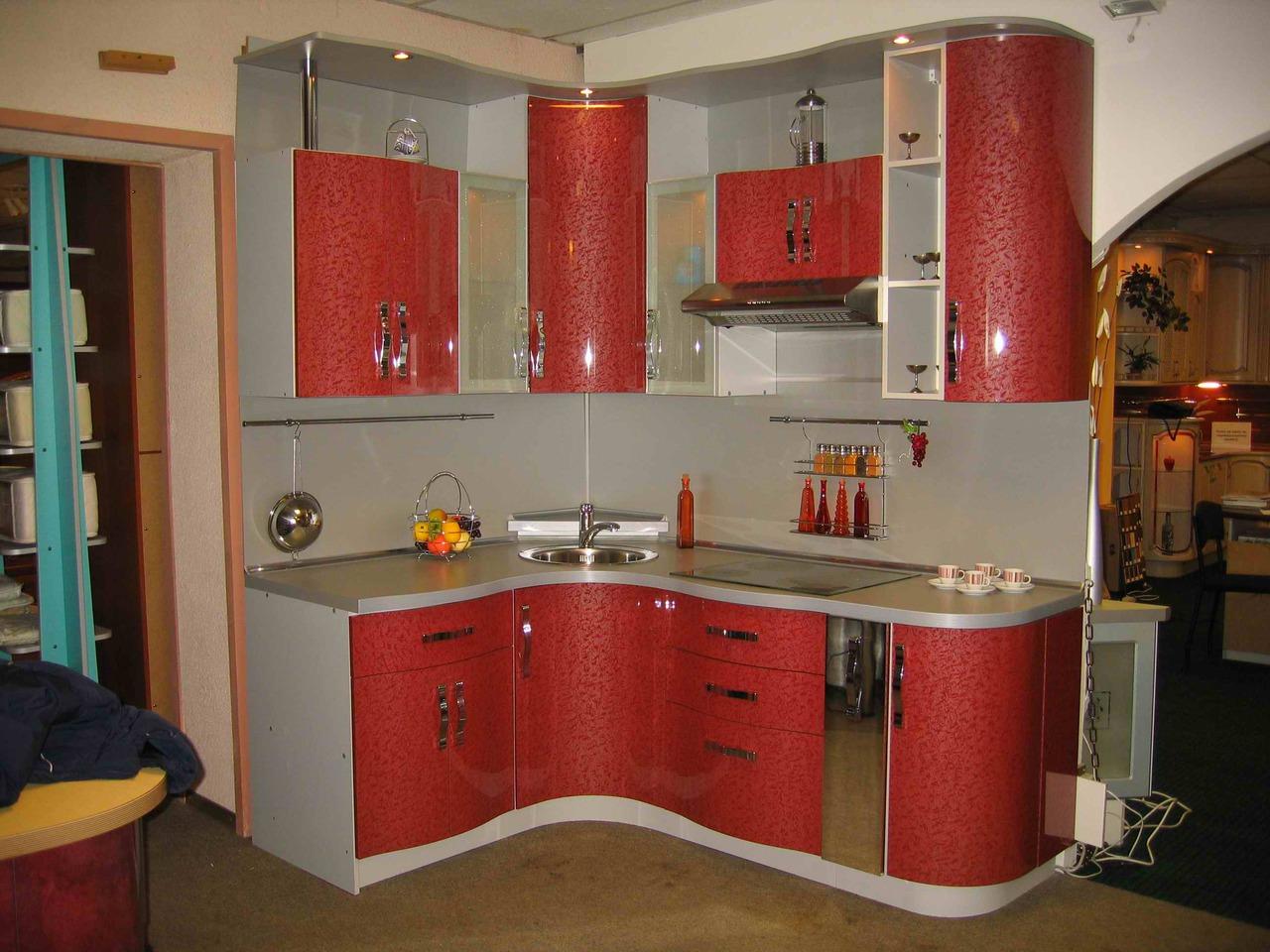 Радиусные кухни на заказ в санкт-петербурге. кухонные гарнит.