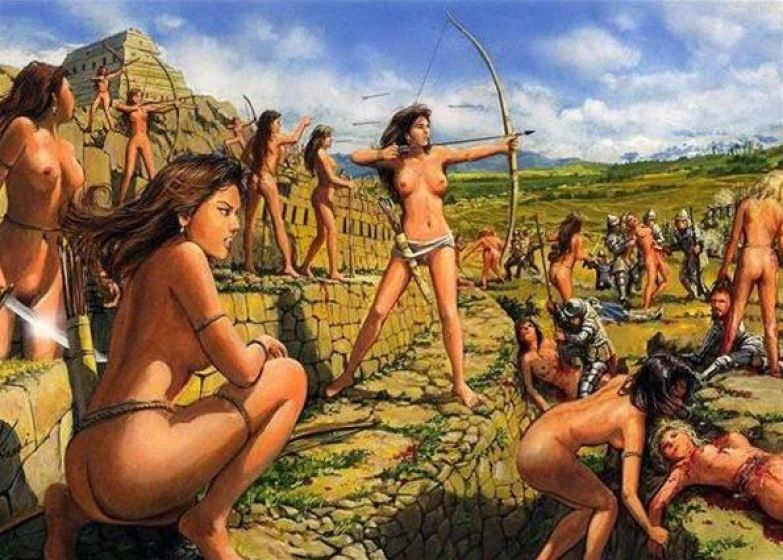 секс с амазонками