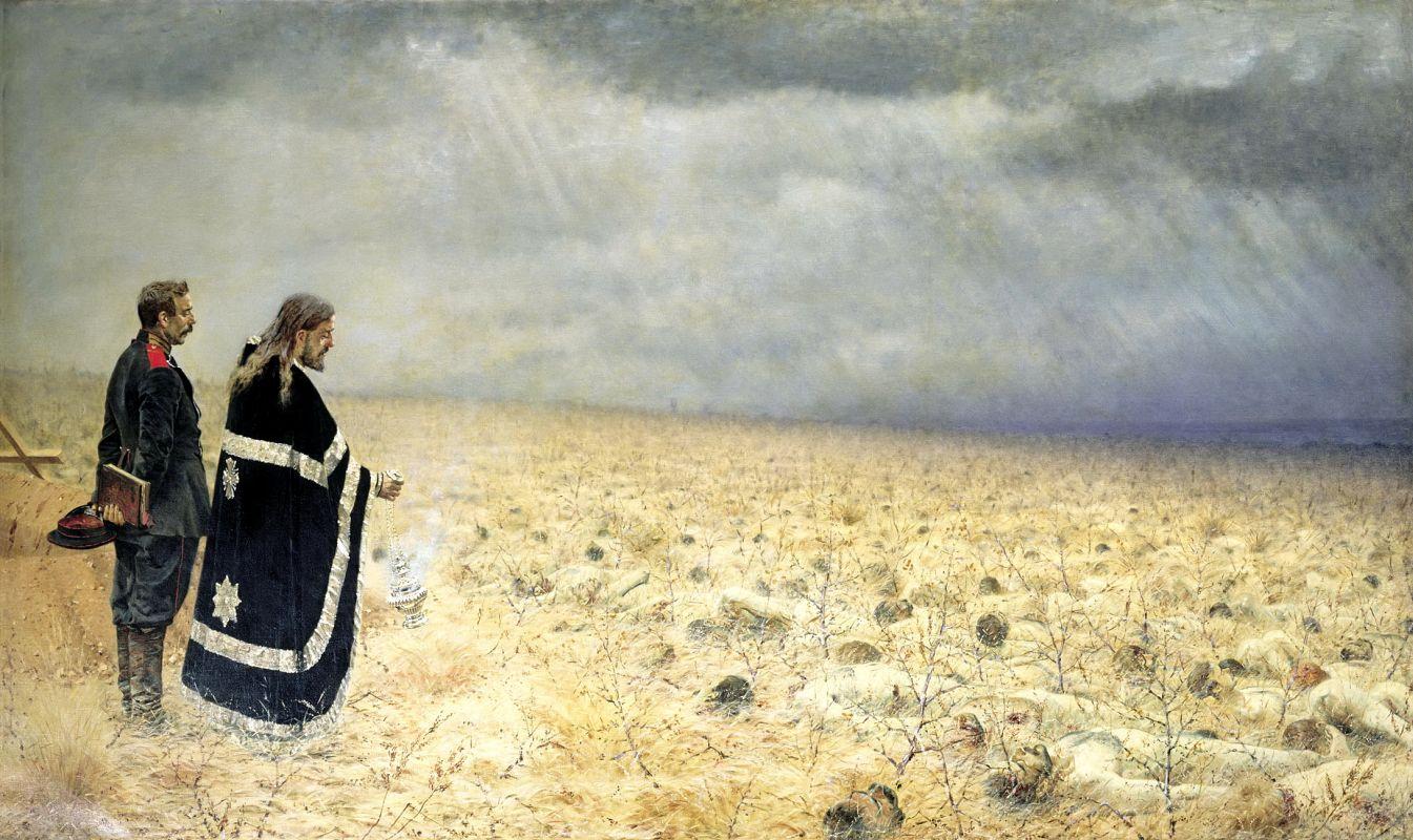 Заставляет не просто всмотреться, а вздрогнуть - батальная живопись Василия Верещагина