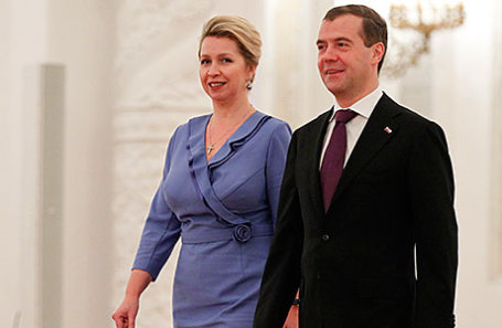 25 лет в браке: Медведева рассказала о жизни с мужем