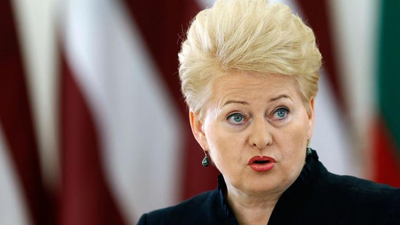 Агент влияния КГБ и бывшая проститутка Даля Грибаускайте на проводе