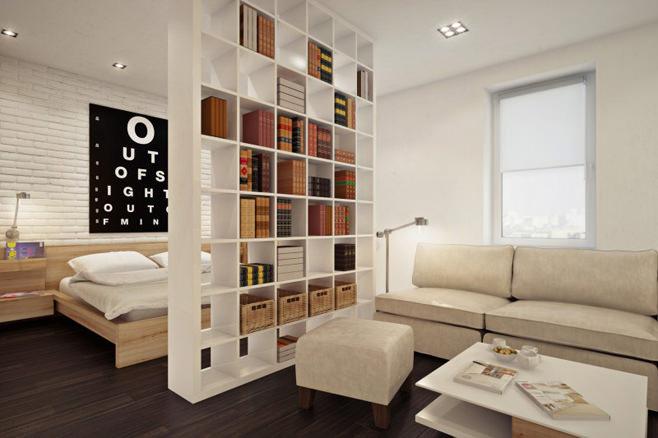 Дизайн квартир полок