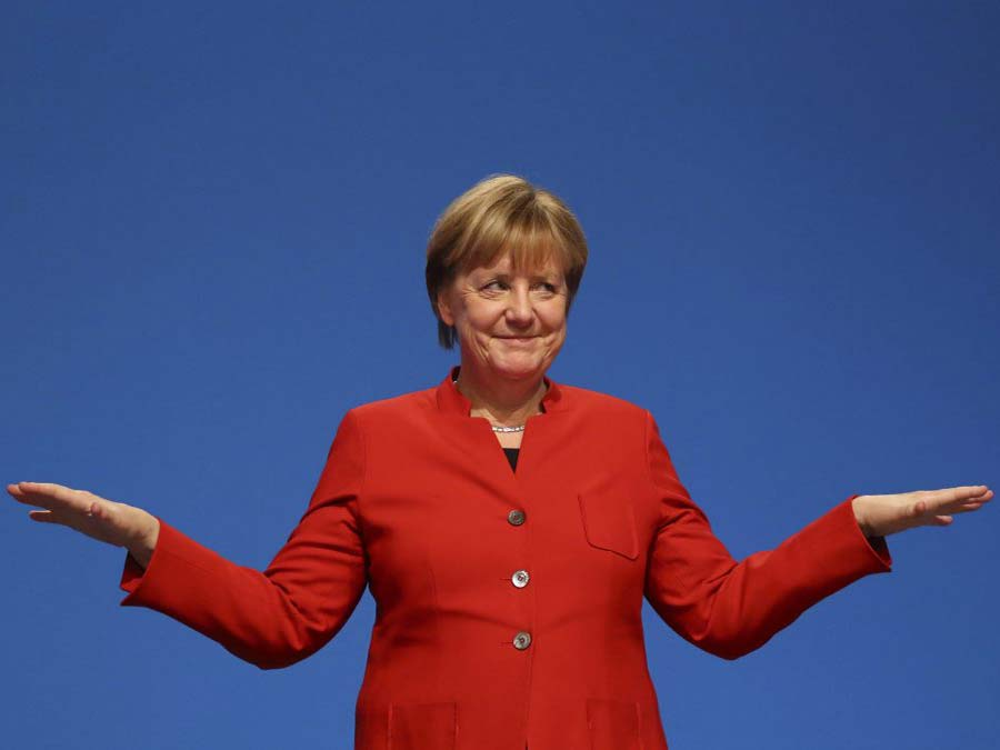 Изворотливости Ангелы Меркель можно только позавидовать. И посочувствовать