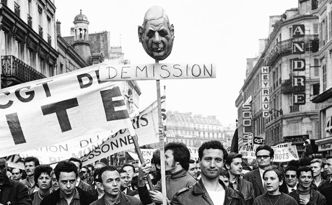 Майдан по-французски: Убрать президента. Почему англосаксам и левакам удалось 50 лет назад победить легендарного Шарля де Голля