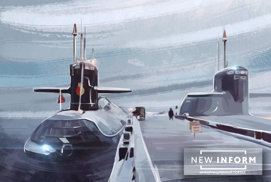 Подводный «монстр», атомная …