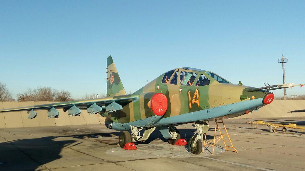 Казахстан получил первые штурмовики Су-25 после ремонта и модернизации в Белоруссии