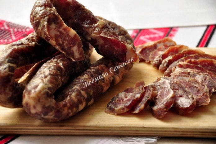 Домашняя колбаса от Мечеславовича. Рецепт, который передается из поколения в поколения