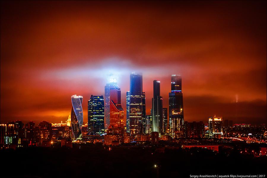 Армагеддон 8 мая в небе над Москвой