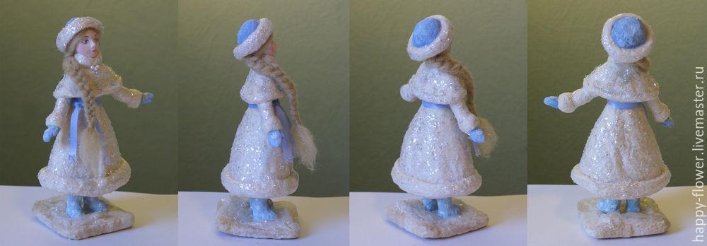Снегурочка своими руками из глины 54