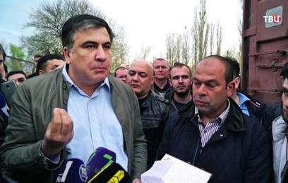 Саакашвили оштрафуют за незаконное пересечение границы Украины