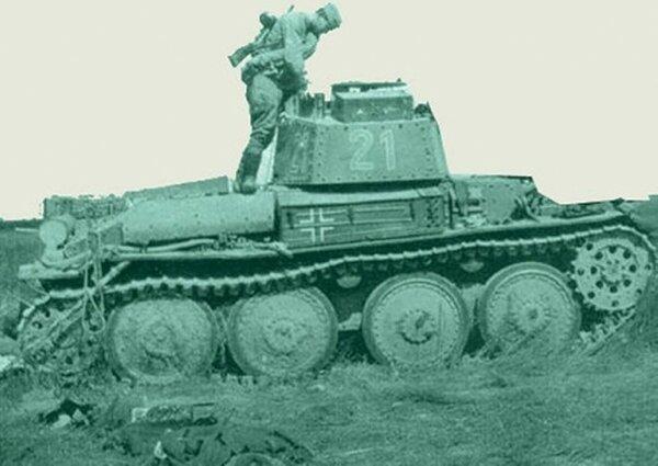 Как кашевар Иван Середа обезвредил немецкий танк... топором.
