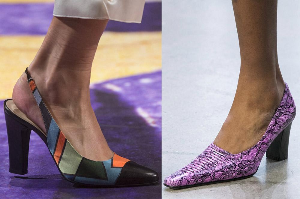 Яркие туфли 2019