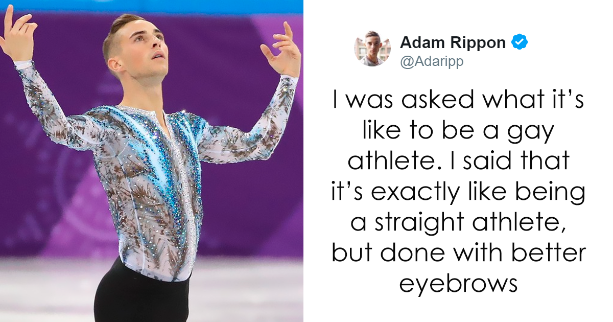 30 Times Adam Rippon Deserved A Gold Medal For His Epic Twitter Game