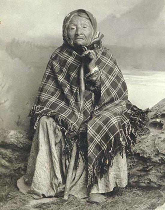 Примерно 1891-1895 годы, фотограф Эдвард Кертис.