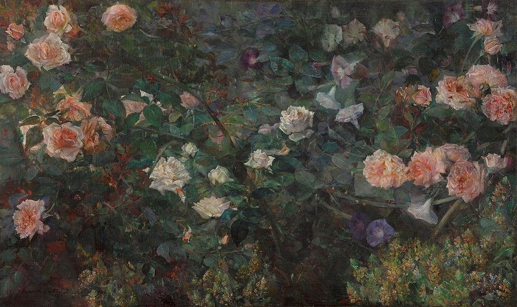 «У цветов особая душа…» Американская художница Maria Oakey Dewing (1845 – 1927)