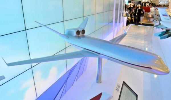 ЭМЗ им. Мясищева показал необычный концепт самолета М-60