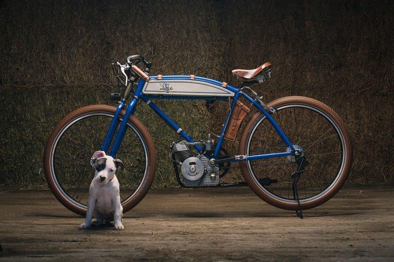 Щенячья любовь - кастомный ретро-мотоцикл Ducati Cucciolo