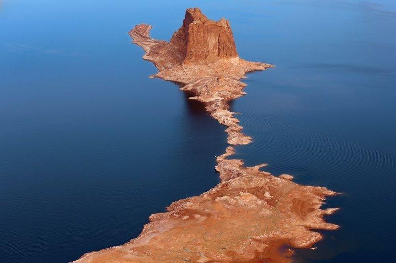 Пауэлл, водохранилище на реке Колорадо, штат Юта америка, вид, высота, мир, пейзаж, природа, фотография